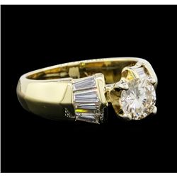 1.22 ctw Diamond Ring - 14KT Yellow Gold