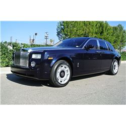 2004 Blue Rolls Royce Phantom