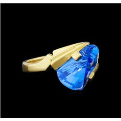Topaz Ring - 14KT Yellow Gold