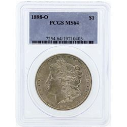 1898-O PCGS MS64 Morgan Silver Dollar