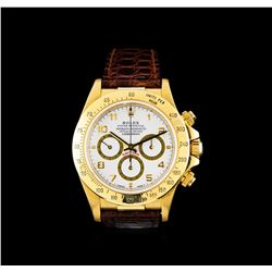 Rolex 18KT Yellow Gold Daytona Men's Watch