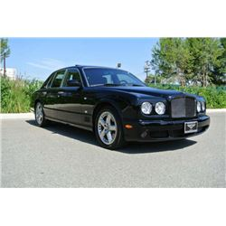 2009 Black Bentley Arnage T