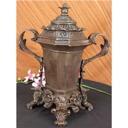 Fully Detailed Beautiful Urn Bronze Sculpture