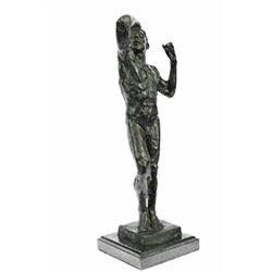 The Vanquished Hot Cast Bronze Sculpture