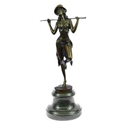 Chorus Line Dancer Bronze Sculpture
