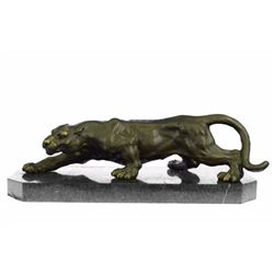 Wildlife Animal edition Bronze Statue on Marble base Figure