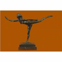 Dancer Arabesque on Right Leg Hirshhorn Bronze Statue