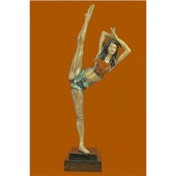 Nick Gymnast Woman Bronze