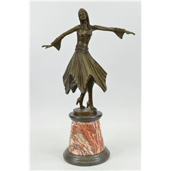 Beautiful Dancer Bronze Sculpture