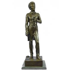 British Admiral Lord English Stunning Bronze Sculpture