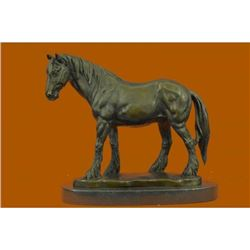 Classic Farm Horse Artwork Bronze Sculpture