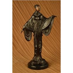 Hot Cast Fashion Model Bronze Sculpture Figure