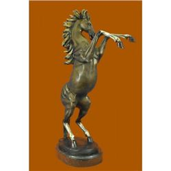 Hot Cast Hand Crafted Wild Horse Bronze Sculpture