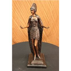 Roman Warrior Coliseum Gladiator Bronze Sculpture