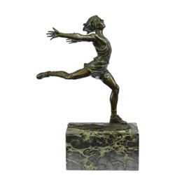 Track Runner Sport Edition Bronze Sculpture