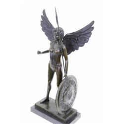 Bronze Statue on marble base Figurine