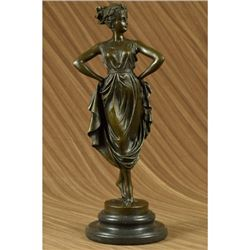 VenusIn Roman Bronze Sculpture on Marble base
