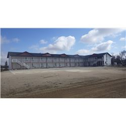 SNOW WHITE INN 550 COMMERCIAL DR LANIGAN, SK. TWO STOREY 33 UNIT MOTEL WITH APPRAISED VALUE 1,750,00