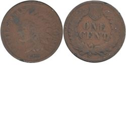 1872 USA 1-cent G-VG (impaired, view image)
