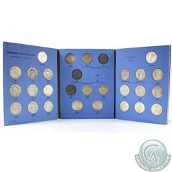 Estate Lot of Canada 1937-1960 50-cents in Blue Whitman Folder. You will receive the following dates