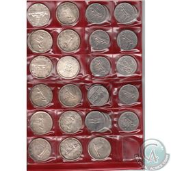 Estate Lot of Canada 1949-1984 Dollars in Red Collector folder. You will receive the following dates