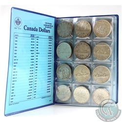 Estate Lot of Canada 1935-1983 Dollars in Blue coin folder. You will receive the following dates: 19