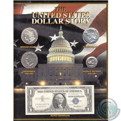The United States Dollar Story Featuring a 1921 Morgan, 1922 Peace, 1972 Eisenhower, 1980 Susan B. A