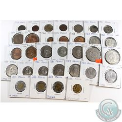 Mexico Coinage 1923-2008 in Fine to UNC. 32pcs