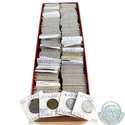Estate Lot of World Coinage from 29 Different Countries 1867-2006. 292pcs