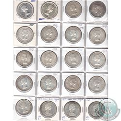 Estate Lot of 1949-1965 Canada Silver Dollar Collection. You will receive the following dates: 1949,