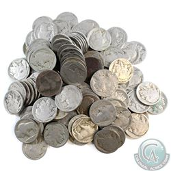 Estate Lot of United States Buffalo Nickels. You will receive 123 coins. Sold as is, no returns.