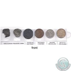 Estate Lot of 1600-1965 Coins from around the world. You will receive the following coins: 2x 1600 S
