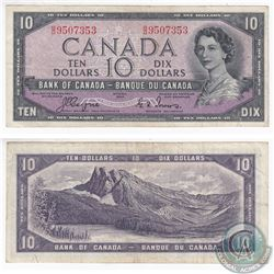 1954 Devil's Face $10.00 Note with Coyne-Towers Signatures.