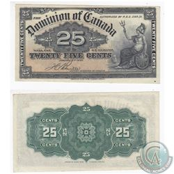 1900 25c Note with Boville Signature in High Grade.
