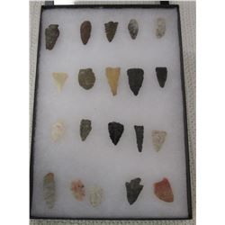 Frame of 20 Arrowheads
