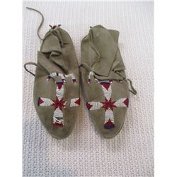 Old Beaded Cheyenne Moccasins