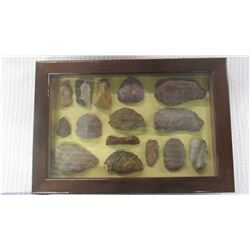 Framed Stone Artifacts