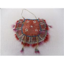 Quille Bag with Beaded Trim