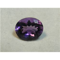 Oval Faceted Amethyst 2.3 ct