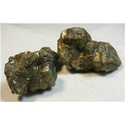 Lot of 2 Pieces of Pyrite from Missouri