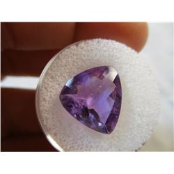 Faceted 5.81 ct Amethyst