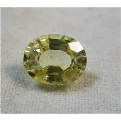 Yellow Sapphire Faceted 1.05 ct