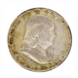 1951-S Franklin Half Dollar Coin