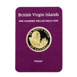 1979 $100 British Virgin Islands Gold Proof Coin