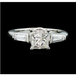 Platinum 1.81ctw Diamond Ring