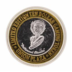 .999 Silver Plaza Hotel & Casino Las Vegas, Nevada $10 Limited Edition Gaming To