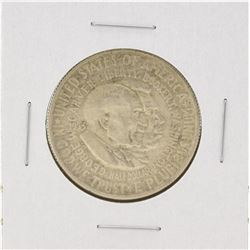 1953-D Washington-Carver Centennial Commemorative Half Dollar Coin