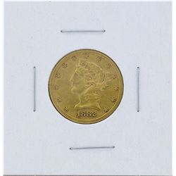 1882-S $5 Liberty Head Half Eagle Gold Coin
