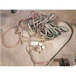 Welding Torch Set with extra long hoses