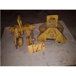 Set of Track Roller Trolley 1/2 ton